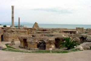 Ruinen von Karthago (Antoninus-Pius-Thermen)