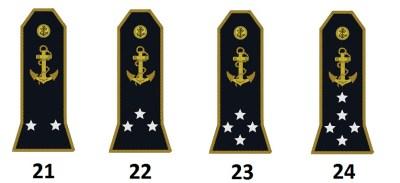 Admiralstab der französischen Marine (Officiers amiraux)