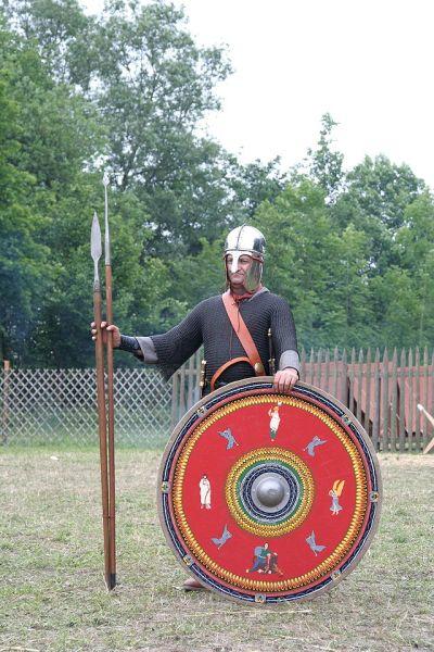 Легионер к концу 3-ьего века