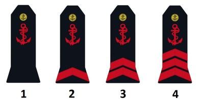 Звания команды французского морского флота