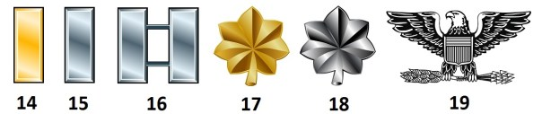 Offiziere der US Air Force