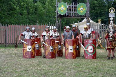 Римские легионеры в 70 н. э.