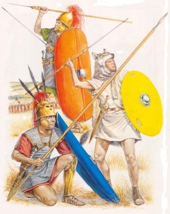 Римские борцы копья