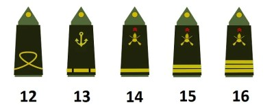 Ufficiali subalterni dell'esercito francese