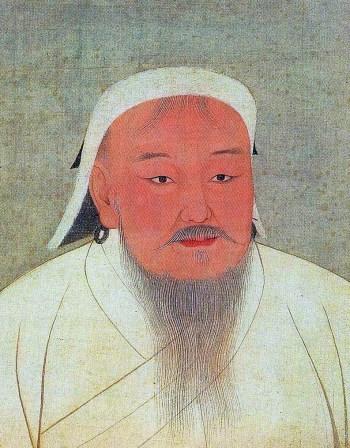 Dschingis Khan (Bildnis aus dem 14. Jh.)