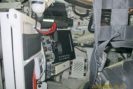 MBT Revolution Innenraum