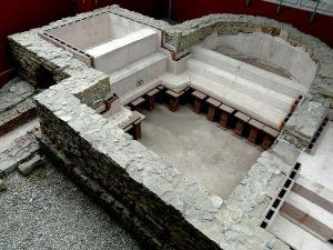 Das kleine Militärbad am Kastell Osterburken