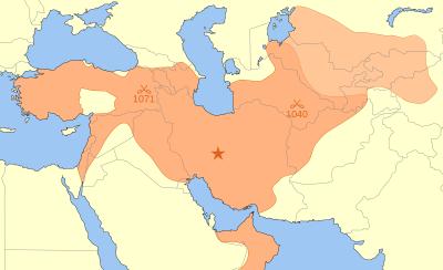Ausdehnung des seldschuken Reiches