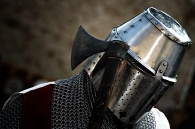 Ritter mit kleiner Streitaxt
