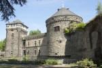 Teil der Stadtburg von Andernach am Rhein