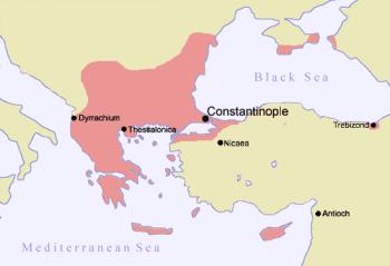 Das Byzantinische Reich um 1081