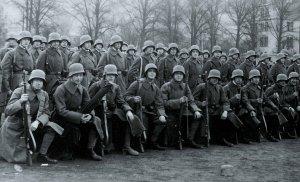 Deutsche Infanterie im 1. Weltkrieg