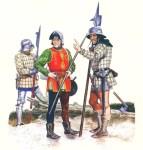 المشاة الانجليزية في حرب المائة عام