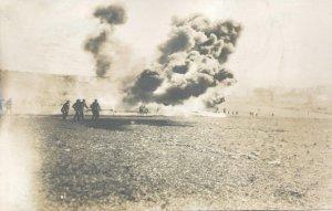 Flammenwerfer Einsatz im 1. Weltkrieg