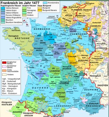 Франция после конца Столетней войны