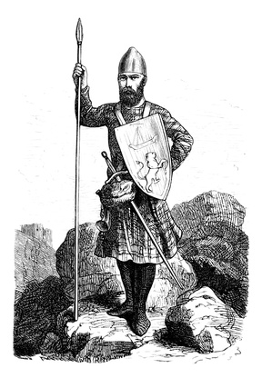 Schottischer Krieger