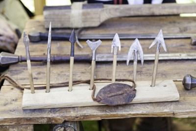 mittelalterliche Pfeilspitzen