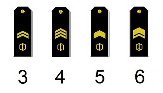 Russische Unteroffiziersdienstgrade