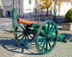 Cañón de campaña de la Batalla de las Naciones de Leipzig