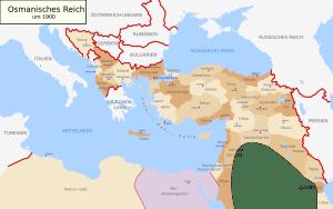 Османская империя в 1900