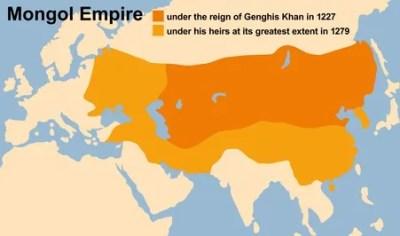 L'Empire mongolien