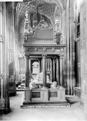 Надгробный памятник Елизаветы I.