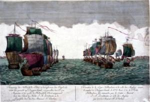 La bataille de la mer à Doggerbank