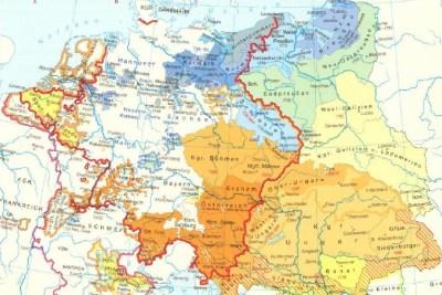 Европа до конца 18-ое столетие