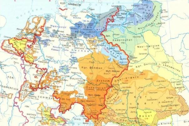 Europa bis zum Ende 18. Jahrhundert