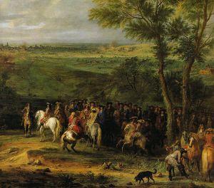 Ludwig XIV. von Frankreich erobert 1673 die niederländische Stadt Maastricht