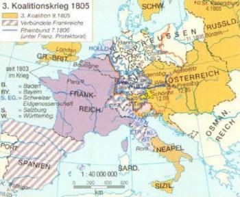 3. Koalitionskrieg von 1805
