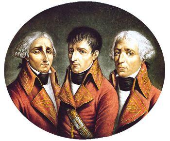 Das 2. Konsulat: Jean-Jacques Régis de Cambacérès, Napoleon Bonaparte und Charles-François Lebrun