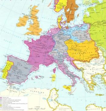 Europa in der Zeit von 1804 bis 1815