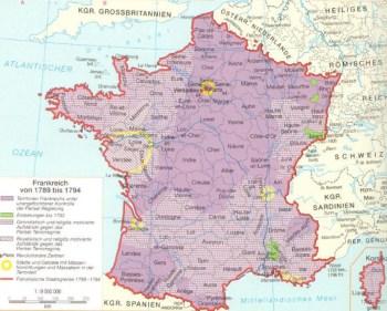 Frankreich von 1789 bis 1794