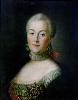 Katharina II. von Russland von 1760