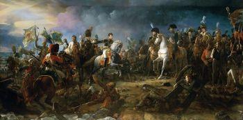 Napoleon in der Schlacht bei Austerlitz (Gemälde von François Pascal Simon Gérard)