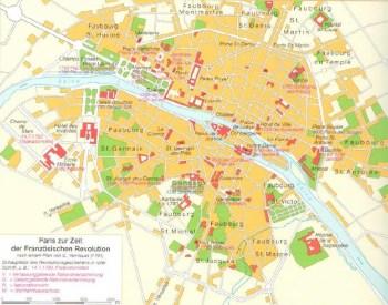 Paris zur Zeit der französischen Revolution