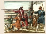 Soldaten der Continental Army