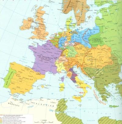 Europa um 1815
