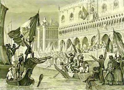 Proclamation de la République de Venise le 23 mars