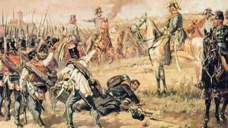 Feldmarschall Radetzky am 23. März 1849 bei Novara