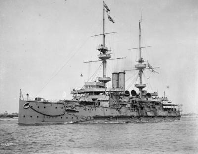 L'unica nave di linea HMS Caesar