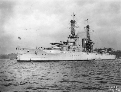 "USS Texas (1919), ein ""Super-Dreadnought"""
