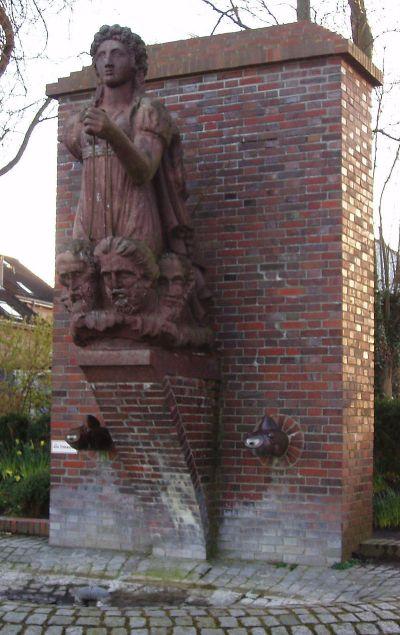 La replica della polena in Eckernförde