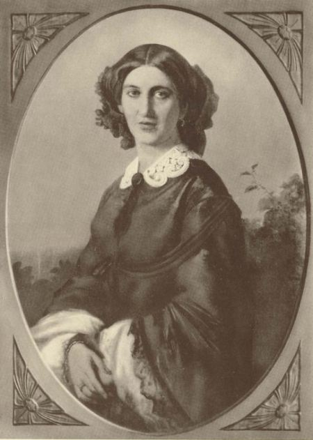 Johanna von Bismarck, geb. von Puttkamer, 1857
