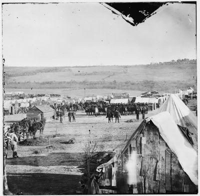 Entrepôt d'une unité de cavalerie