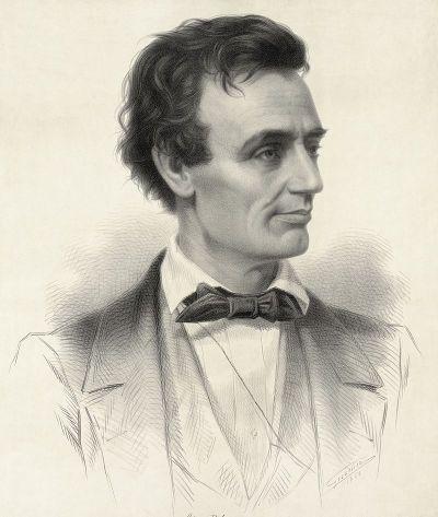 Lincoln im Jahre 1832