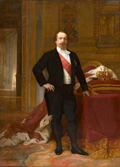 Napoléon III, tableau d'Alexandre Cabanel, vers 1865