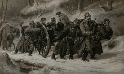 Retrait des troupes danoises de Danewerke les 5 et 6 février 1864