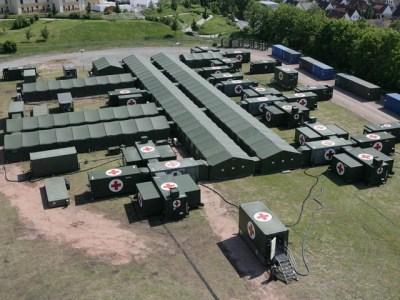 联邦国防军的模块化救援中心